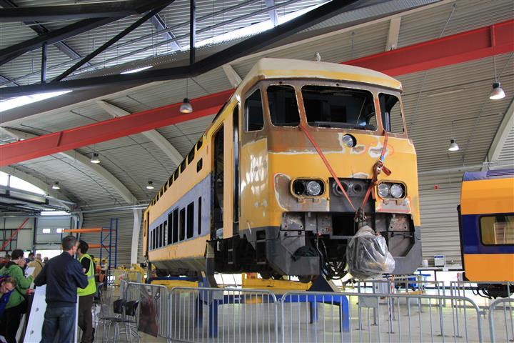 In één van de hallen staat als blikvanger DD-AR rijtuig 270 7061. Hoewel het rijtuig in eerste instantie zou worden omgebouwd tot DDZ-rijtuig, blijkt het door een ongeval in 1993 te krom te zijn en wordt de revisie gestaakt.